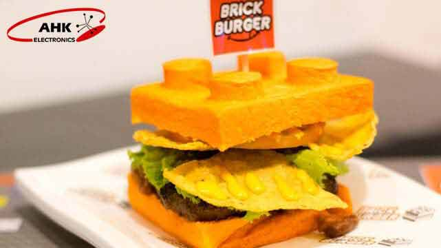 همبرگر با طعم لگو